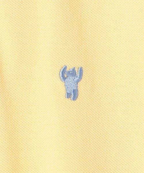 coen(コーエン)/【定番アイテム復刻】ベア刺繍ポロシャツ/76256039014_img10