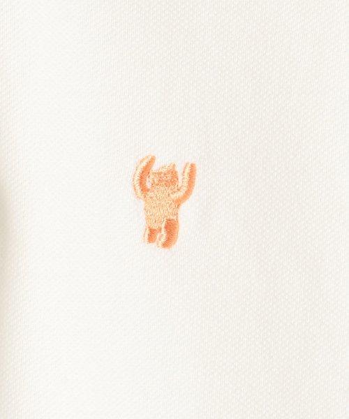 coen(コーエン)/【定番アイテム復刻】ベア刺繍ポロシャツ/76256039014_img12