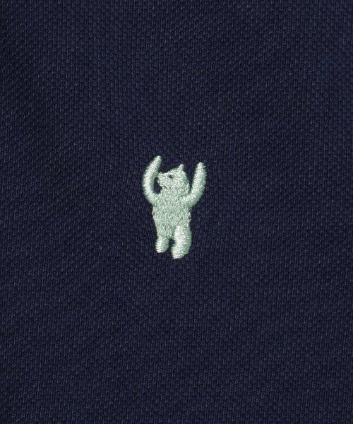 coen(コーエン)/【定番アイテム復刻】ベア刺繍ポロシャツ/76256039014_img14