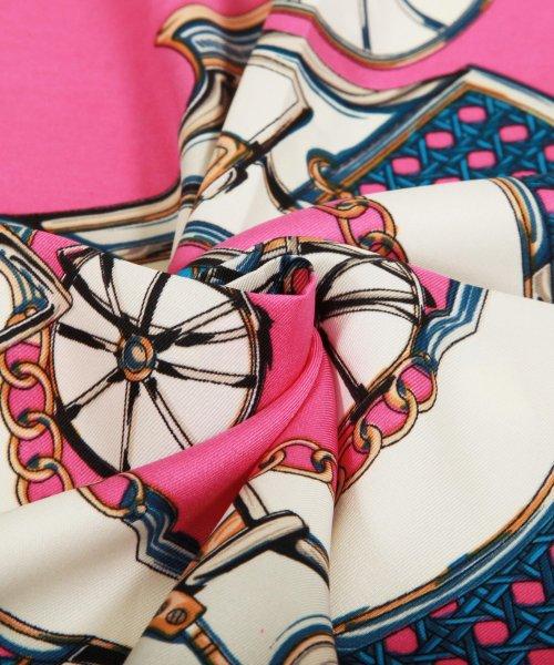 Julia Boutique(ジュリアブティック)/60×60cmサイズ・ヴィンテージ風サテン生地スカーフ・バンダナ・ストール/100012/100012_img02