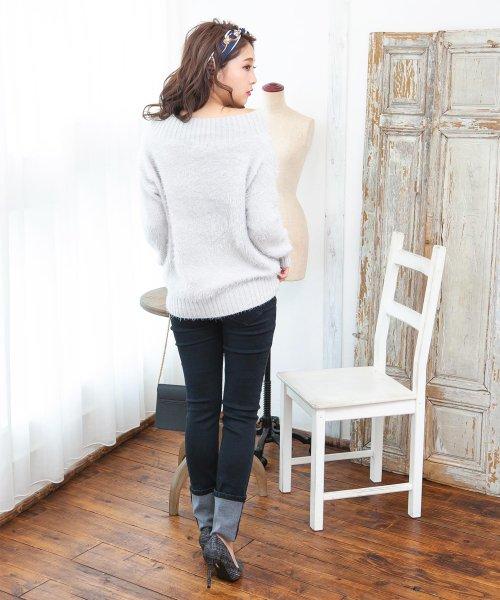 Julia Boutique(ジュリアブティック)/60×60cmサイズ・ヴィンテージ風サテン生地スカーフ・バンダナ・ストール/100012/100012_img08