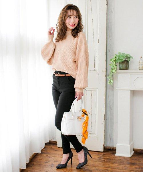 Julia Boutique(ジュリアブティック)/60×60cmサイズ・ヴィンテージ風サテン生地スカーフ・バンダナ・ストール/100012/100012_img16