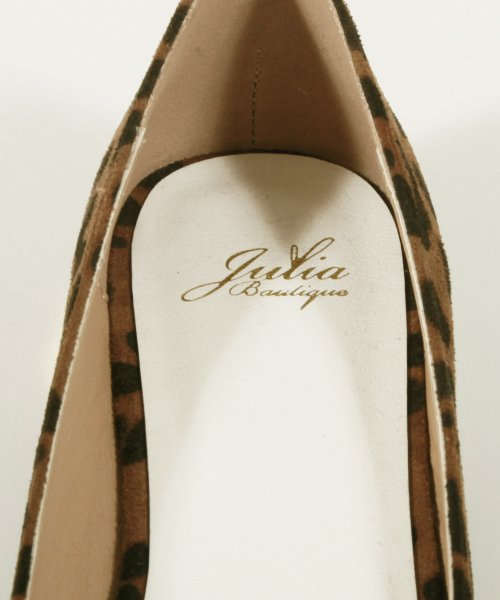 Julia Boutique(ジュリアブティック)/ゴールドヒールスエード素材フラットパンプス/550009/550009_img05