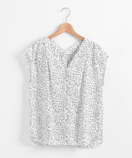 le.coeur blanc(ルクールブラン)/ニュアンスVネックフレンチシャツ/3095039730_img06