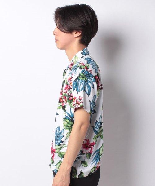 MARUKAWA(マルカワ)/レーヨン アロハシャツ 総柄プリント オープンカラーシャツ/2152820073_img03