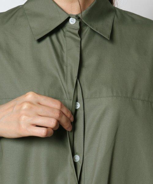 SCOTCLUB(スコットクラブ)/GRANDTABLE(グランターブル) ロールアップビッグシャツ/021326062_img09