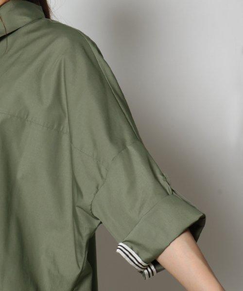 SCOTCLUB(スコットクラブ)/GRANDTABLE(グランターブル) ロールアップビッグシャツ/021326062_img10