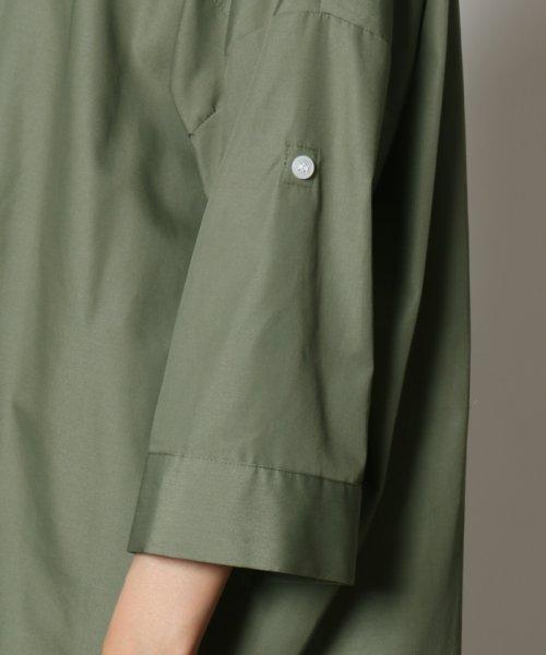 SCOTCLUB(スコットクラブ)/GRANDTABLE(グランターブル) ロールアップビッグシャツ/021326062_img12