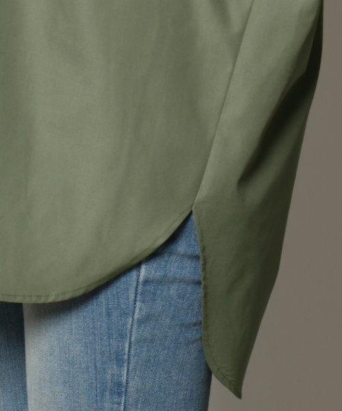 SCOTCLUB(スコットクラブ)/GRANDTABLE(グランターブル) ロールアップビッグシャツ/021326062_img13