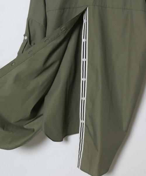 SCOTCLUB(スコットクラブ)/GRANDTABLE(グランターブル) ロールアップビッグシャツ/021326062_img14