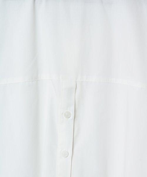 SCOTCLUB(スコットクラブ)/GRANDTABLE(グランターブル) ロールアップビッグシャツ/021326062_img15