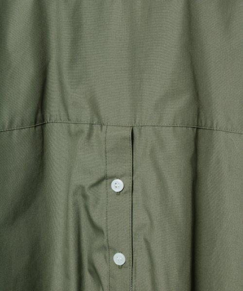 SCOTCLUB(スコットクラブ)/GRANDTABLE(グランターブル) ロールアップビッグシャツ/021326062_img16