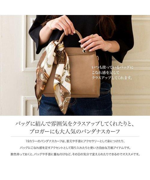 cream dot(クリームドット)/バッグに結んで雰囲気をクラスアップしてくれたりと、ブロガーにも大人気のバンダナスカーフ/a00503_img02