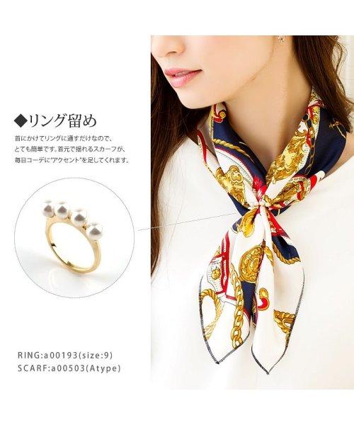 cream dot(クリームドット)/バッグに結んで雰囲気をクラスアップしてくれたりと、ブロガーにも大人気のバンダナスカーフ/a00503_img18