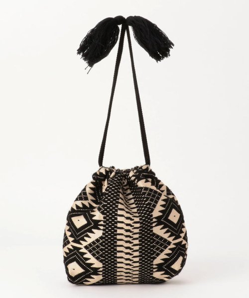 fredy emue(フレディエミュ)/【Swaraj/スワラージ】幾何学ジャガード巾着バッグ/9-0552-2-32-104_img10