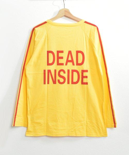 felt maglietta(フェルトマリエッタ)/ロゴプリントサイドラインロングTシャツ/am104_img13