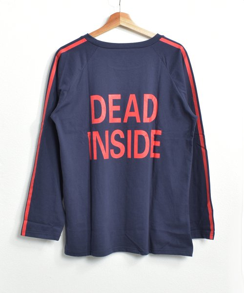 felt maglietta(フェルトマリエッタ)/ロゴプリントサイドラインロングTシャツ/am104_img15