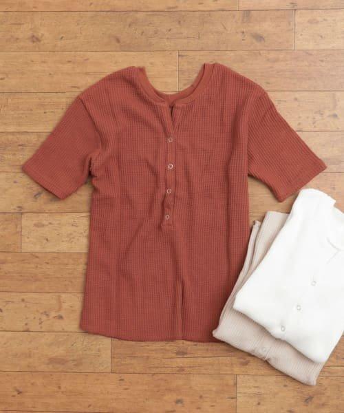 SENSE OF PLACE(センスオブプレイス)/2WAYワッフルビッグTシャツ(半袖)/AA95-21A184_img01