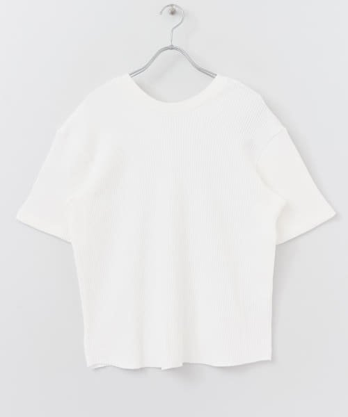 SENSE OF PLACE(センスオブプレイス)/2WAYワッフルビッグTシャツ(半袖)/AA95-21A184_img04