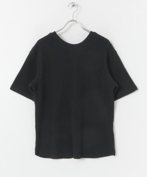 SENSE OF PLACE(センスオブプレイス)/2WAYワッフルビッグTシャツ(半袖)/AA95-21A184_img05