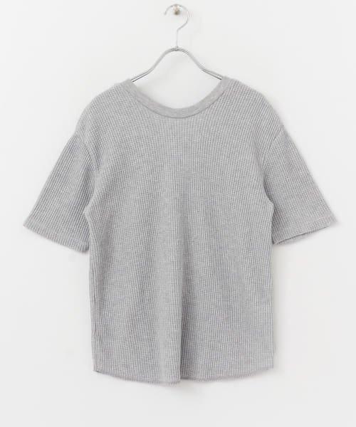SENSE OF PLACE(センスオブプレイス)/2WAYワッフルビッグTシャツ(半袖)/AA95-21A184_img06