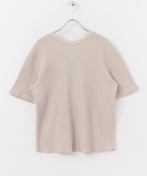 SENSE OF PLACE(センスオブプレイス)/2WAYワッフルビッグTシャツ(半袖)/AA95-21A184_img07
