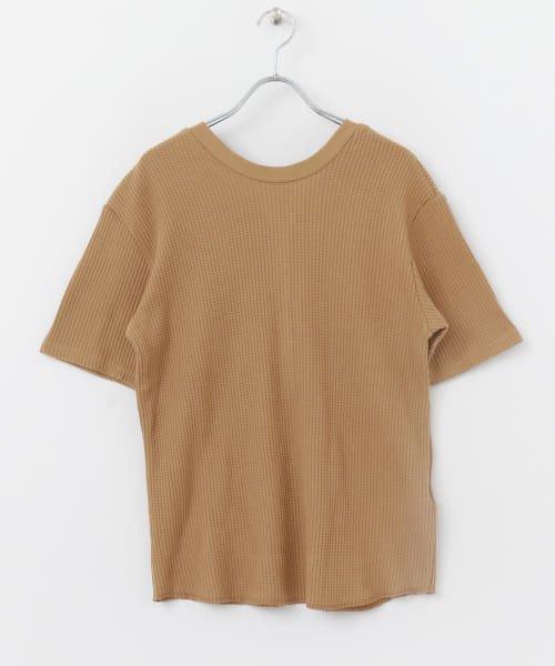 SENSE OF PLACE(センスオブプレイス)/2WAYワッフルビッグTシャツ(半袖)/AA95-21A184_img08