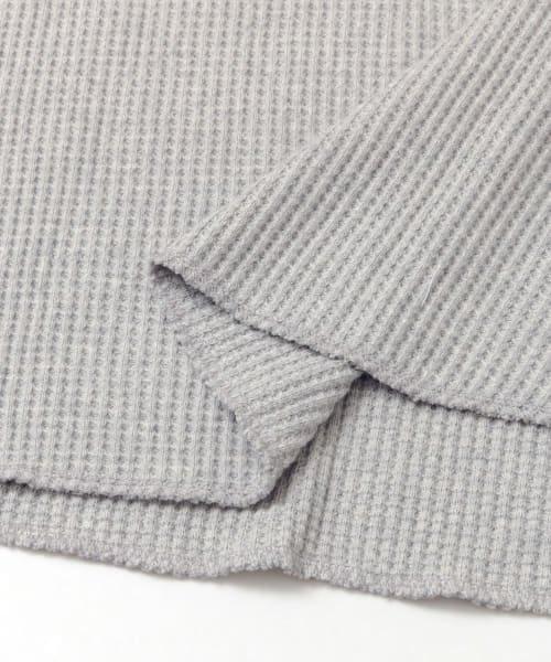 SENSE OF PLACE(センスオブプレイス)/2WAYワッフルビッグTシャツ(半袖)/AA95-21A184_img16