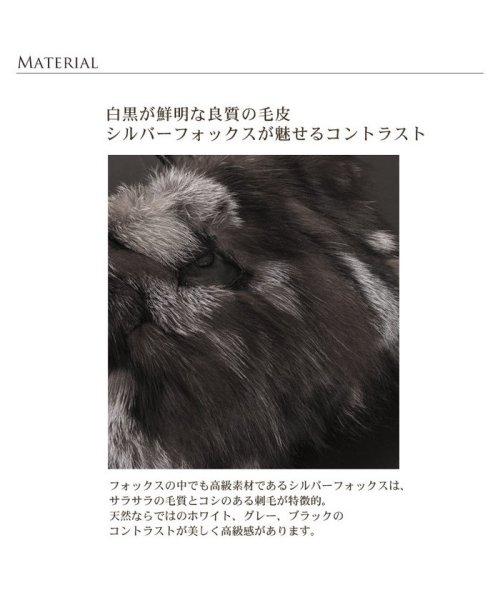 sankyoshokai(サンキョウショウカイ)/ハンドバッグ シルバー フォックス ファー ベロ付き/01000533r_img03