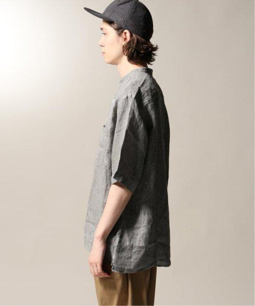 JOURNAL STANDARD relume Men's(ジャーナルスタンダード レリューム メンズ)/Linen Panama バンドカラーシャツ/19051464310010_img30