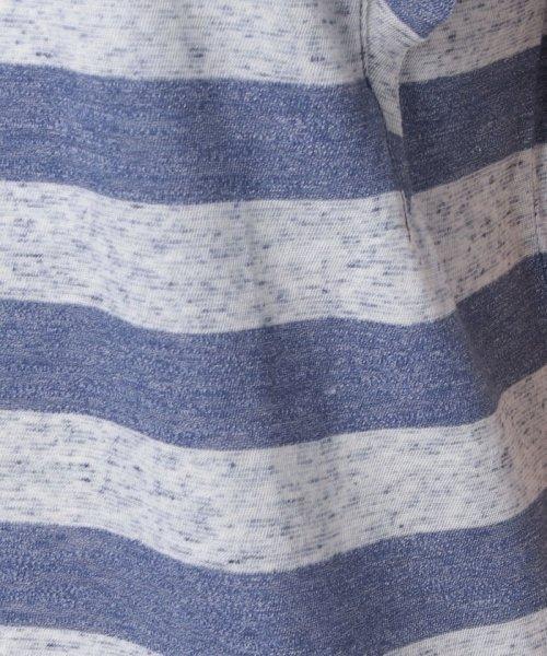 SISLEY(シスレー(レディス))/ミックスボーダーフリルスリーブTシャツ/19P3NU7L12IS_img08