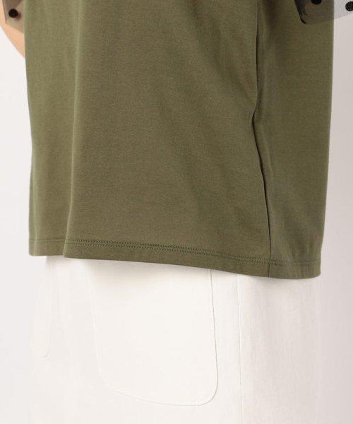 NOLLEY'S(ノーリーズ)/チュールドットスリーブTシャツ/9-0035-3-03-008_img06