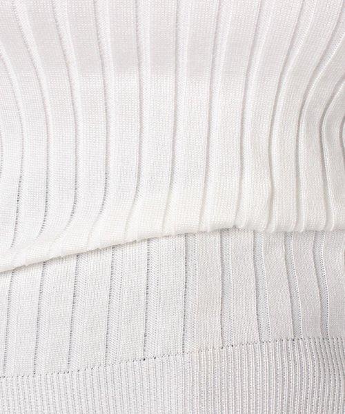 felt maglietta(フェルトマリエッタ)/身体にフィット美ラインスリムニットップス/3796_img04