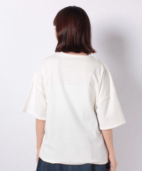 felt maglietta(フェルトマリエッタ)/ブルドッグのプリントが可愛い♪プリントTシャツ/am109_img02