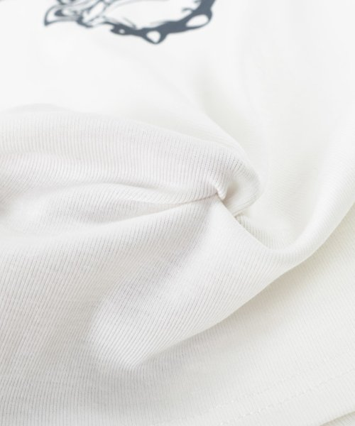 felt maglietta(フェルトマリエッタ)/ブルドッグのプリントが可愛い♪プリントTシャツ/am109_img04