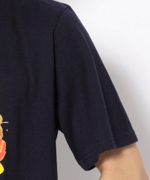 LHP(エルエイチピー)/MADDICT/マディクト/ルーズシルエット フラワースカルプリントTシャツ/6016191327-60_img05