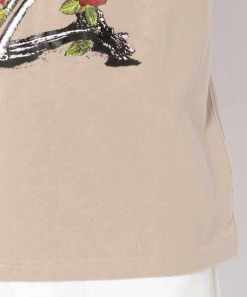 LHP(エルエイチピー)/MADDICT/マディクト/ルーズシルエット スカルプリントTシャツ/6016191331-60_img06