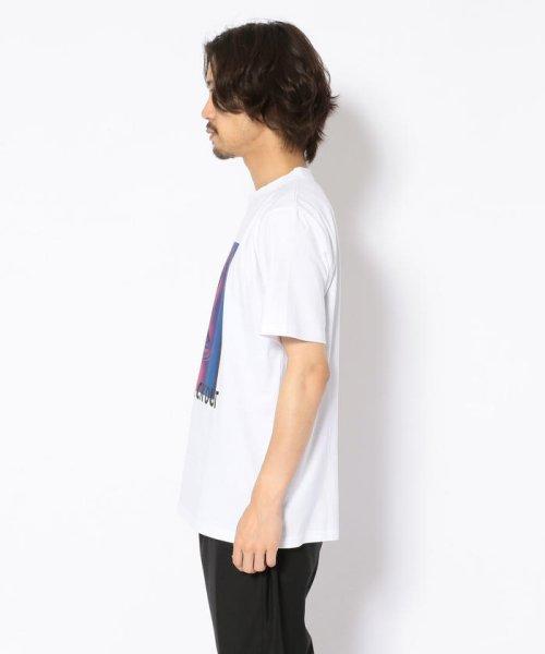 LHP(エルエイチピー)/MADDICT/マディクト/ルーズシルエット ブラックアウトプリントTシャツ/6016191333-60_img01