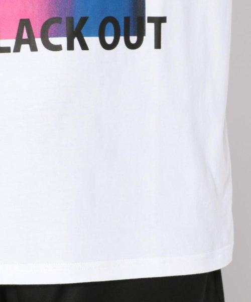 LHP(エルエイチピー)/MADDICT/マディクト/ルーズシルエット ブラックアウトプリントTシャツ/6016191333-60_img06