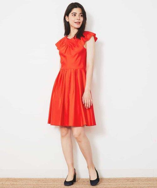 Tara Jarmon(タラ ジャーモン)/【リゾート特集】コットンデザインドレス IMPORTED/VZEGD43460_img01