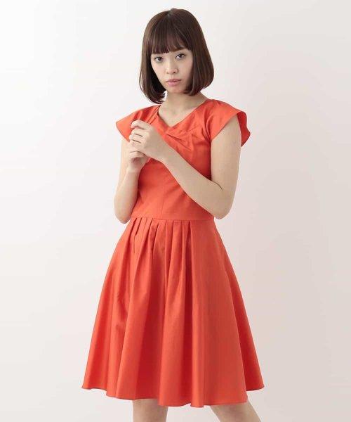 Tara Jarmon(タラ ジャーモン)/【リゾート特集】コットンデザインドレス IMPORTED/VZEGD43460_img02