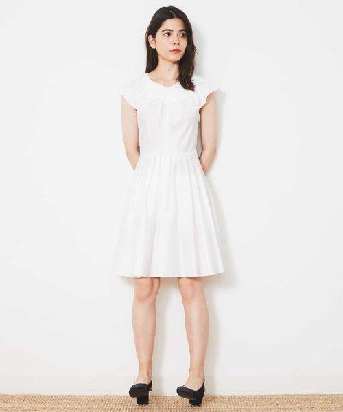 Tara Jarmon(タラ ジャーモン)/【リゾート特集】コットンデザインドレス IMPORTED/VZEGD43460_img12