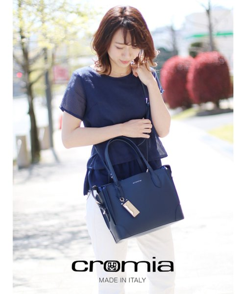 sankyoshokai(サンキョウショウカイ)/[cromia]牛革レザーハンドバッグ/09000128r_img08