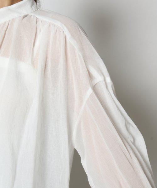 SCOTCLUB(スコットクラブ)/GRANDTABLE(グランターブル) バックリボンシアーシャツ/021326067_img07