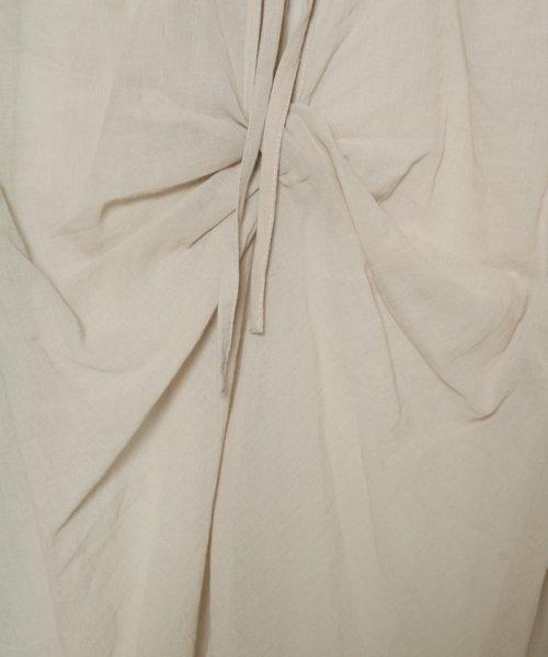 SCOTCLUB(スコットクラブ)/GRANDTABLE(グランターブル) バックリボンシアーシャツ/021326067_img12