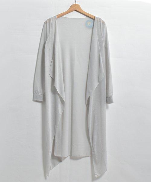 felt maglietta(フェルトマリエッタ)/ロング丈でスタイルカバー出来る◎UVケアカーディガン/h090_img04