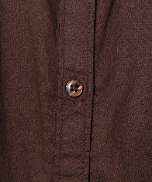 coen(コーエン)/【新色追加・先行販売⇒ブラック・WEB限定カラー⇒コバルトブルー】インディアンコットンギャザーワンピース/76756039004_img48