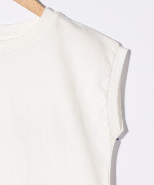 coen(コーエン(キッズ))/【coen キッズ/ジュニア】バックスカラップ刺繍ドルマンTシャツ/77256009052_img03