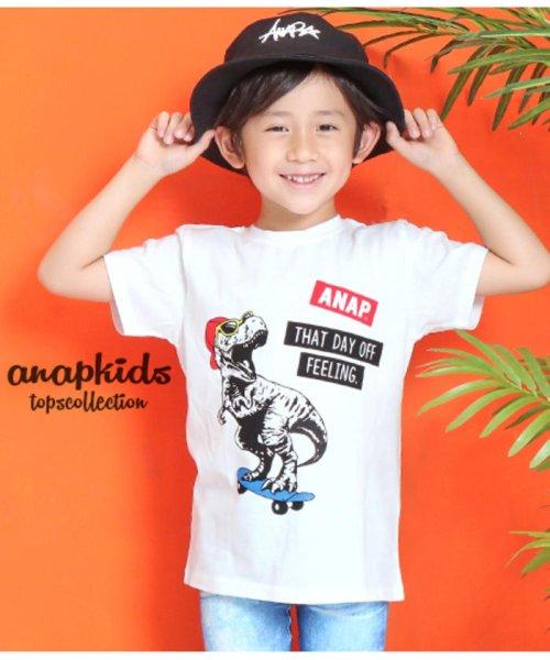 ANAP KIDS(アナップキッズ)/T-REXプリントTシャツ/0437400003_img01