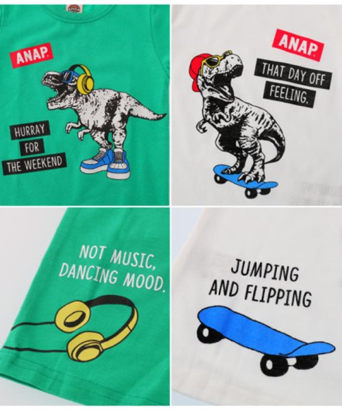 ANAP KIDS(アナップキッズ)/T-REXプリントTシャツ/0437400003_img08